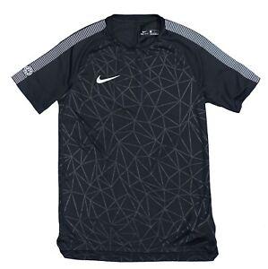807281cf7 Nike DRY CR7 Squad Training Soccer Shirt Black 882991 Medium ...