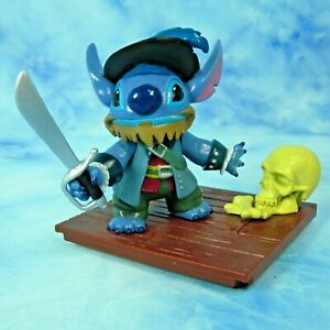 Disney-Lilo-and-Stitch-Pirates-Caribbean-Vinyl-Figure-Skull-Cake-Topper-3-inches