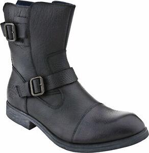 Men-039-s-Kenneth-Cole-Reaction-Work-Week-Black-Zip-On-Engineer-Boot