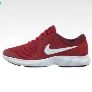 Minúsculo ideología Negligencia médica  Zapatos Deportivos Nike Revolution 4 GS Rojo Blanco 943309-601 Talla 6Y  (7.5) para mujer   eBay