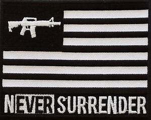 Never-Surrender-Embroidered-Patch-100-MADE-IN-THE-USA