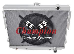 4 Row Western Champion Radiator for 1977-1983 Chevrolet Corvette V8 Engine