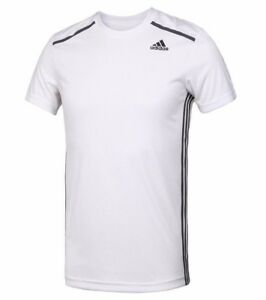 Training Shirt Top T Details Fitness About Gym Running 365 Men's Adidas Cool White New PkZiuX