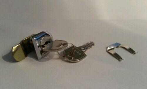 Papa remplacement post box lock courrier serrure de coffre avec 2 touches et fixation clip