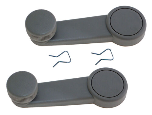 FITS 2008-2010 FORD FOCUS NEW LatchWell Window Crank Handle Gray PAIR