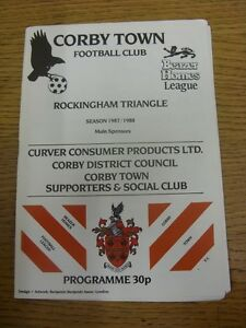 02-04-1988-Corby-Town-v-Nuneaton-Borough-Team-Changes-Footy-Progs-Bobfrankan