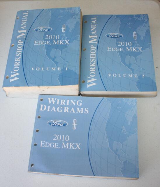 2010 Edge Mkx Service Workshop Manuals  U0026 Wiring Diagrams