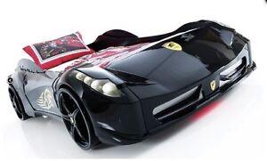 Image Is Loading Childrens BLACK WHITE RED Ferrari 458 Italia Style