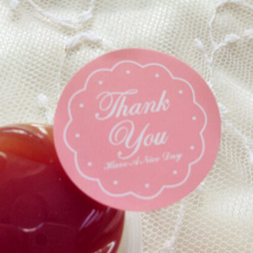 Envelopes Bagui KK Stickers  for Gift Wrap 48pcs Thank You Oval Seal Labels