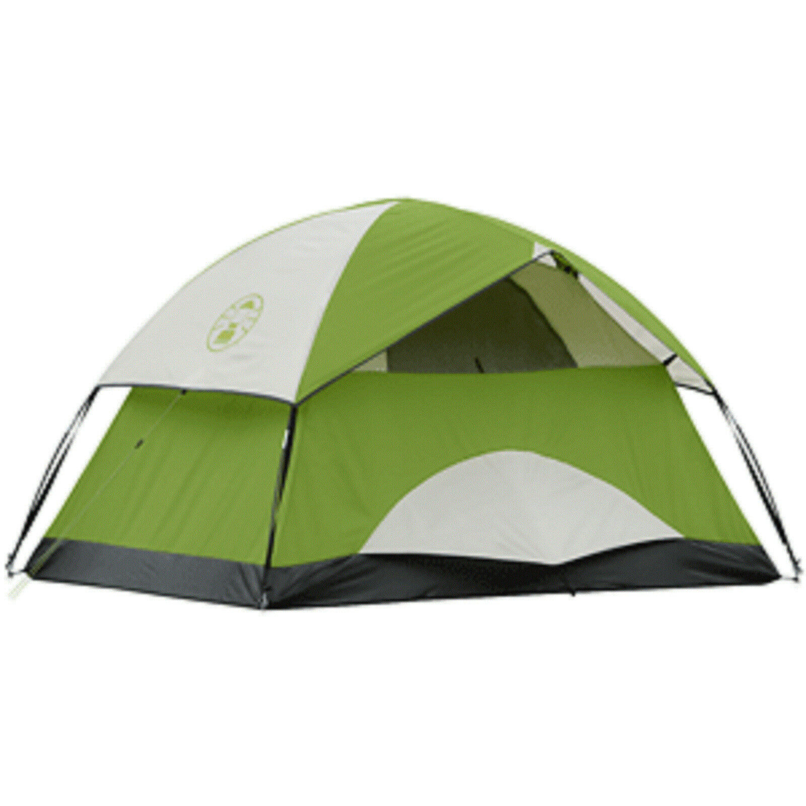 Coleman Sundome 2 Person Tent 7 X 5 X 48, w/Weathertec Easy Set Up Electric Port