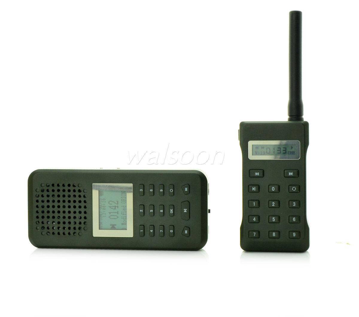 Hunting MP3 Player Bird Caller 20W 126dB Speaker LCD Display W Remote 800 Meter