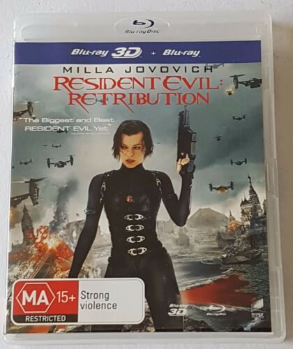 1 of 1 - Resident Evil - Retribution Blu-ray, 2013 2-Disc Set Like New (#BRD00193)