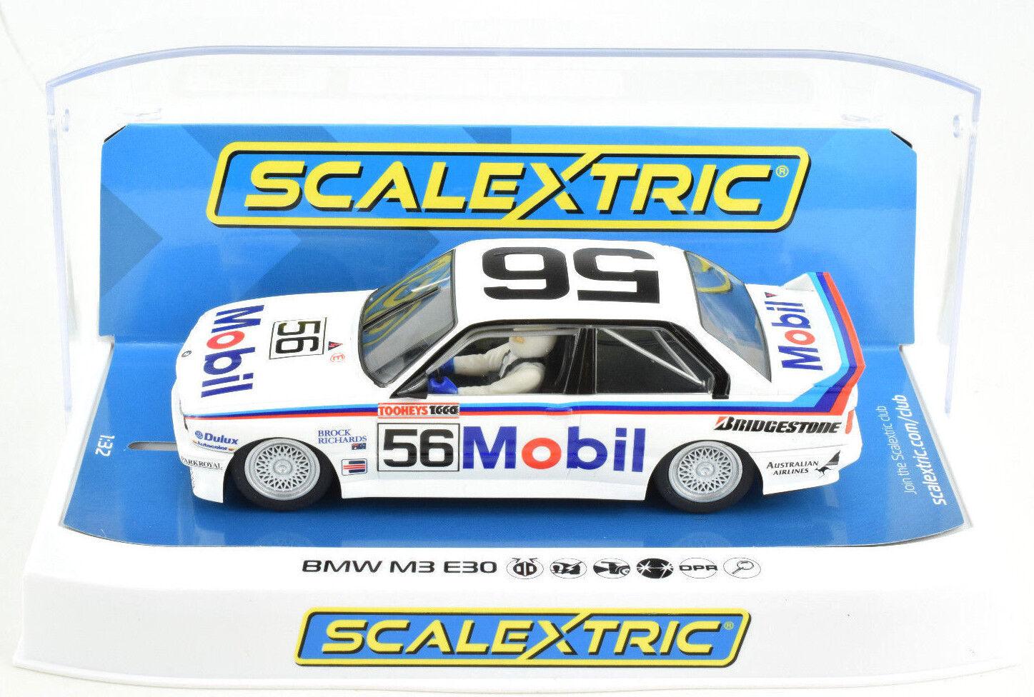 Scalextric  Mobil  BMW E30 M3 - Bathurst DPR W  Lights 1 32 Scale Slot Car C3929