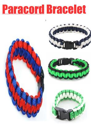 550 Paracord Survival Bracelet Trip Core Cobra Weave Pick your Color