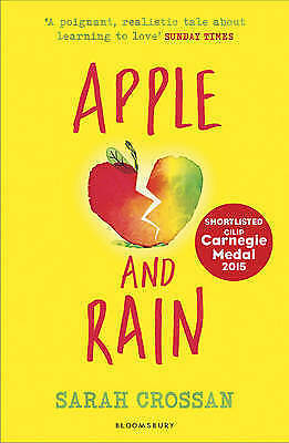 1 of 1 - Apple and Rain by Sarah Crossan (Paperback, 2015)
