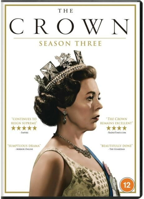 The Crown - Season 3 Box Set - NEW AND SEALED