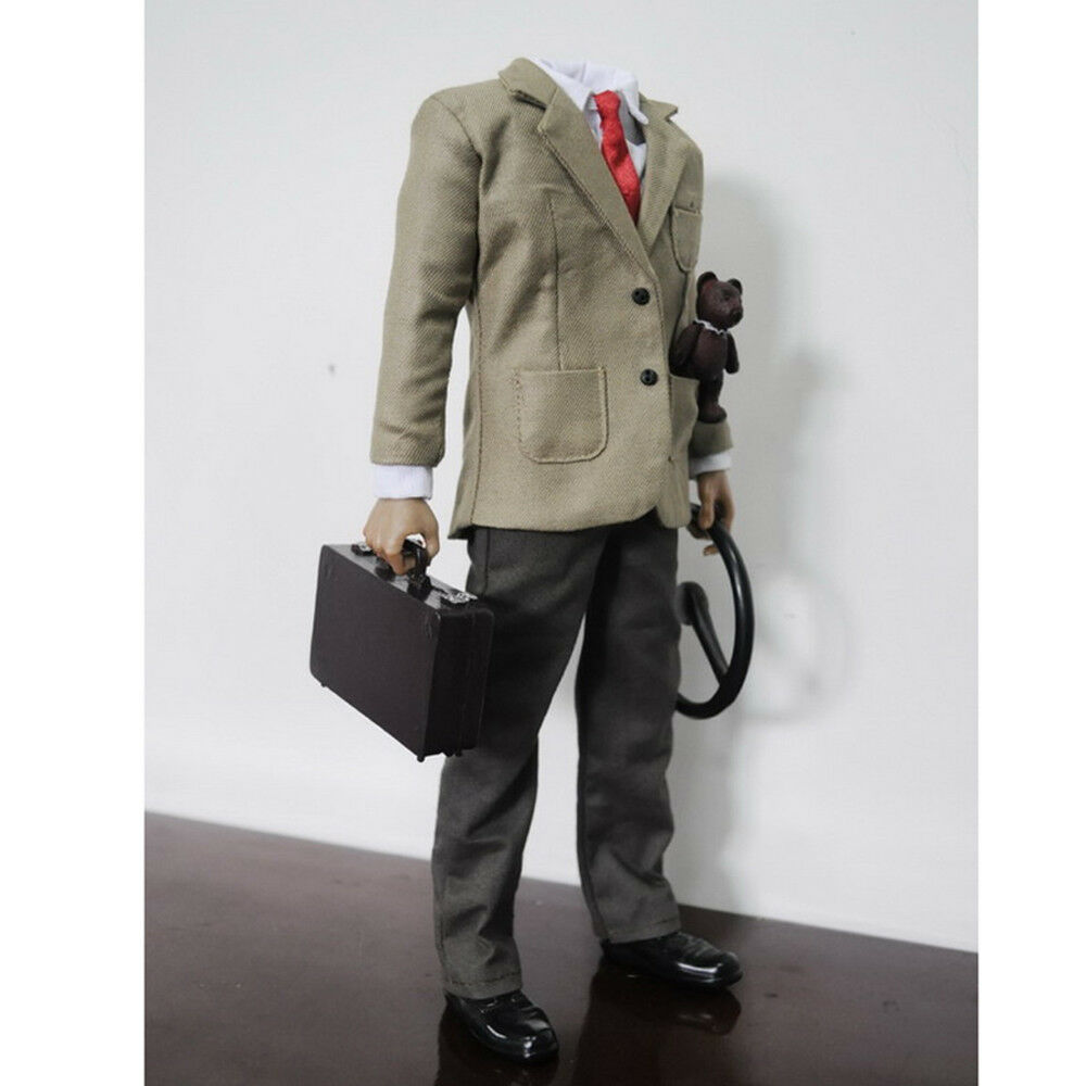 KUMIK 1 6 Scale MR.BEAN Cloth Suit with Action Figure Body for 12  Hot Toys