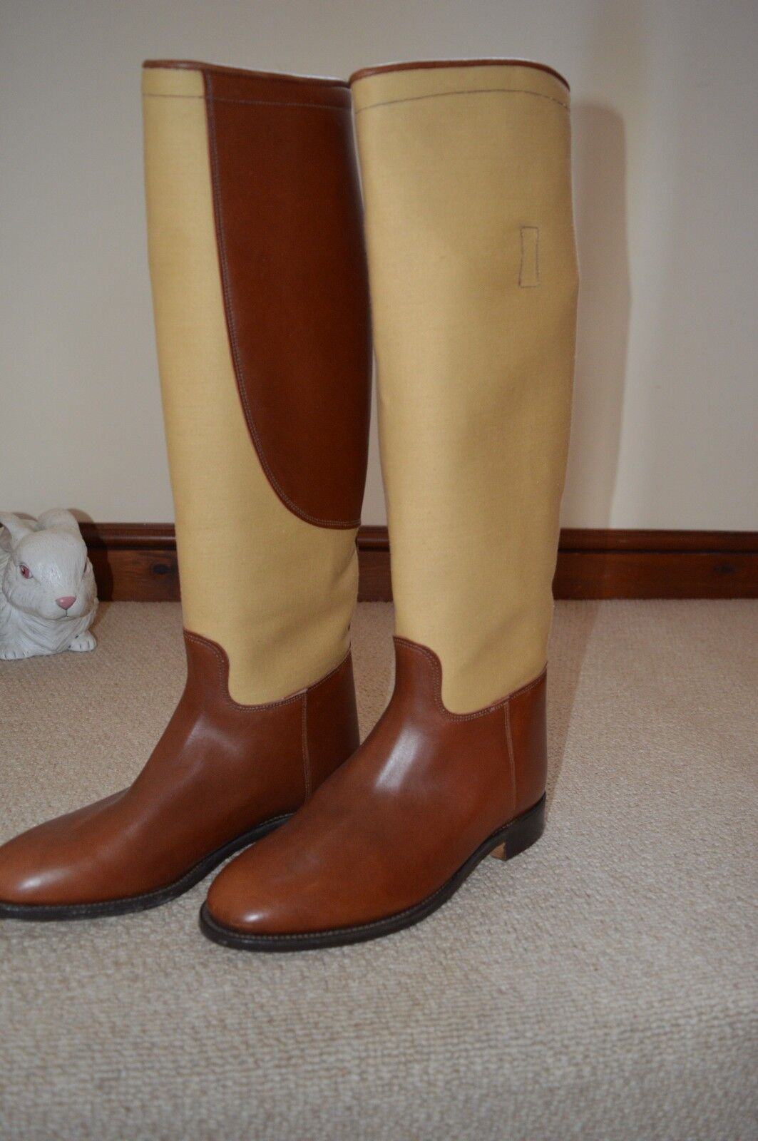 Regent Quality Full Riding Country Boot Size 8
