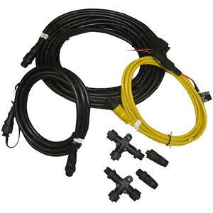 garmin nmea 2000 starter kit n2k network cable drop power. Black Bedroom Furniture Sets. Home Design Ideas