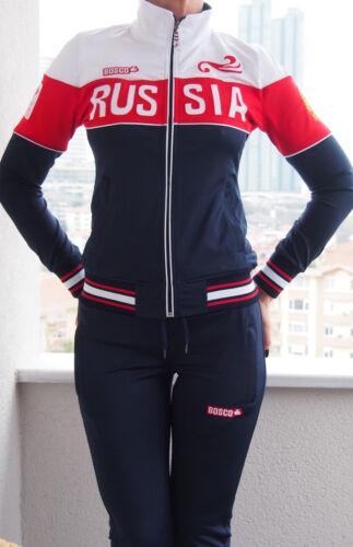 Russian Olympics Uniform Bosco Sport womens track suit 2018 team suit all sizes