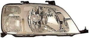 Right-Headlight-Assembly-For-1997-2001-Honda-CRV-2000-1999-1998-Dorman-1590739