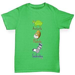 Twisted-Envy-Boy-039-s-philosophes-philostuffers-Drole-T-shirt-en-coton