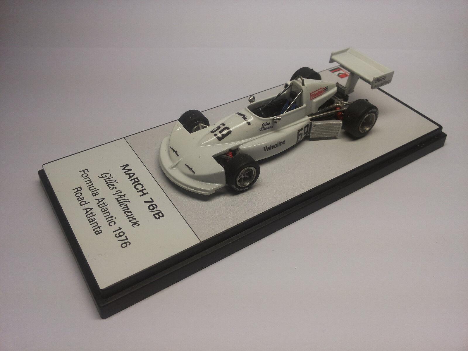 Sconto del 60% Gilles Villeneuve March 76 76 76 b  la migliore selezione di