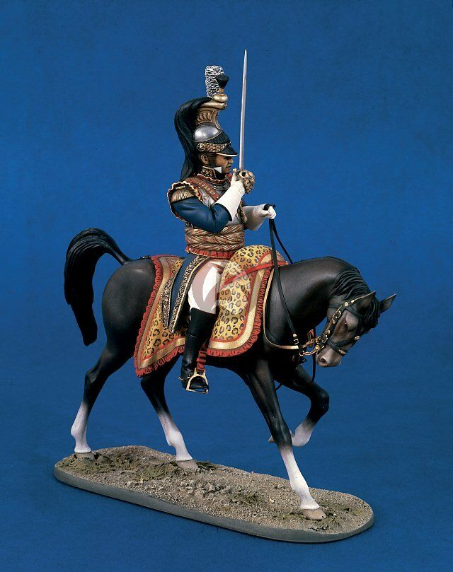 Verlinden 120mm (1 16) Mounted Cavalry Cuirassier General (Napoleonic era) 1290