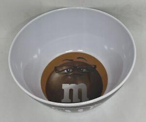 M&M's World Brown Character Logo Big Face Bowl New