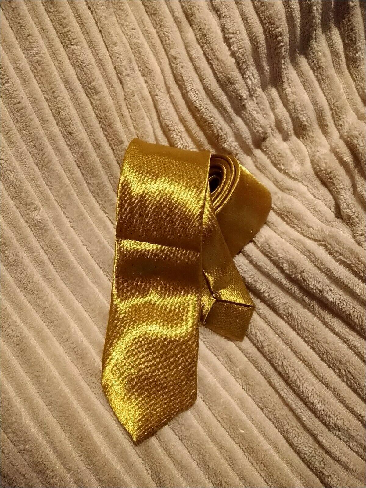 Golden yellow colour Women tie vintage ladies party wedding
