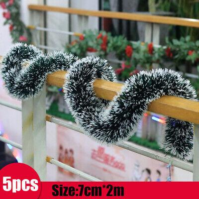 2M 6.5Ft Luxury Chunky Tinsel Chrismas Tree Decoration Xmas Garland 1-10PCS