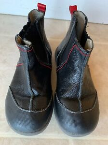 EUC-See-Kai-Run-Mateo-Leather-Boots-Black-Sz-12