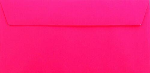 110 x 220 mm con rayas de detención Pink din Lang Sobres 25 St