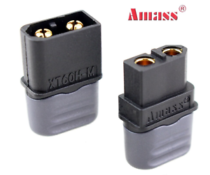 1 Paar XT60H Stecker /& XT60 Buchse Steckverbinder für RC LiPo Akku