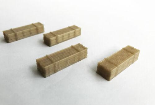 Outland Models Modelleisenbahn Miniatur Holzlasten gesetzt Spur Z 1:220