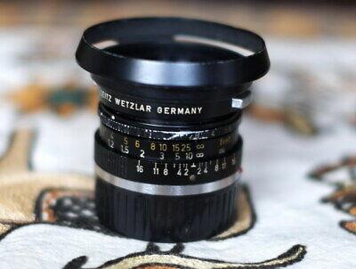 Nikon AF Nikkor 35mm f//2D, Tapa objetivo frontal 52mm