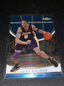 2005-06-Topps-Finest-Kobe-Bryant-Base-Blue-LA-Lakers
