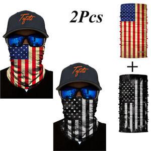 2Pcs-Balaclava-National-Flag-Head-Face-Neck-Gaiter-Tube-Bandana-Scarf-Snood