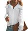 thumbnail 4 - Women Long Flutter Sleeve Off The Shoulder T-shirt Summer Sexy Beach Blouse Tops