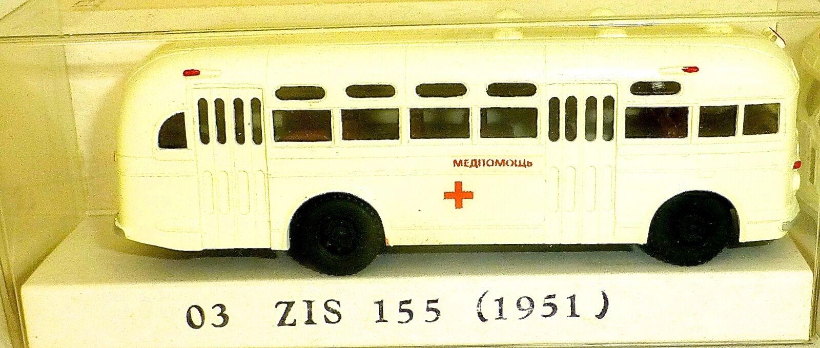 03 Zis 155 autobus di 1951 Croce Rossa H0 1 87 Å