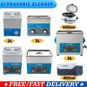 Digital-Stainless-Ultrasonic-Jewellery-Watch-Glasses-CD-Cleaner-Sonic-Wave-Clean