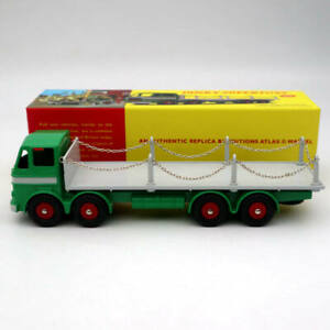 Atlas-Dinky-toys-935-Leyland-Octopus-Flat-Truck-With-Chains-Diecast-Models