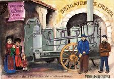GRANGES-LES-VALENCE 1994 10 ème salon carte postale alambic distilation crussol