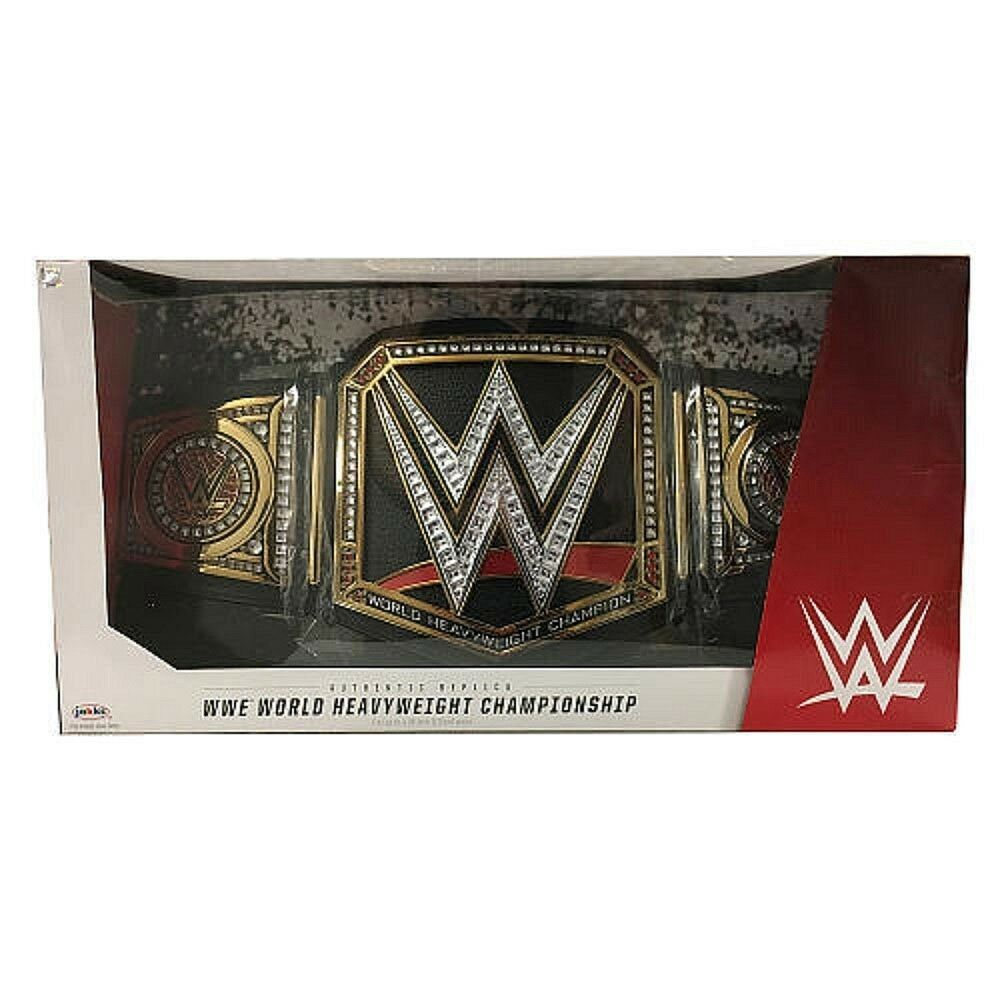 WWE World Heavyweight Championship Replica Title Belt Collectible (For Adults)