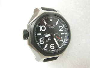 NIXON-The-Tangent-Watch-Silver-Black-WATCH-ONLY