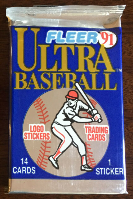 Fleer 91 Ultra Baseball Trading Cards Set (collectibles Sports MEM 1991)