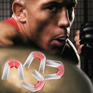 1pc Plasticity Boxing Basketball Gum Shield Mouth Guard Piece Teeth