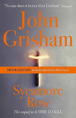 1 of 1 - Sycamore Row (Trunk Edition),Grisham, John,New Book mon0000030432