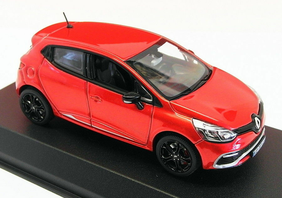 Norev 1 43 Scale Model Car 517594 - Renault Clio R.S. - Flame rot