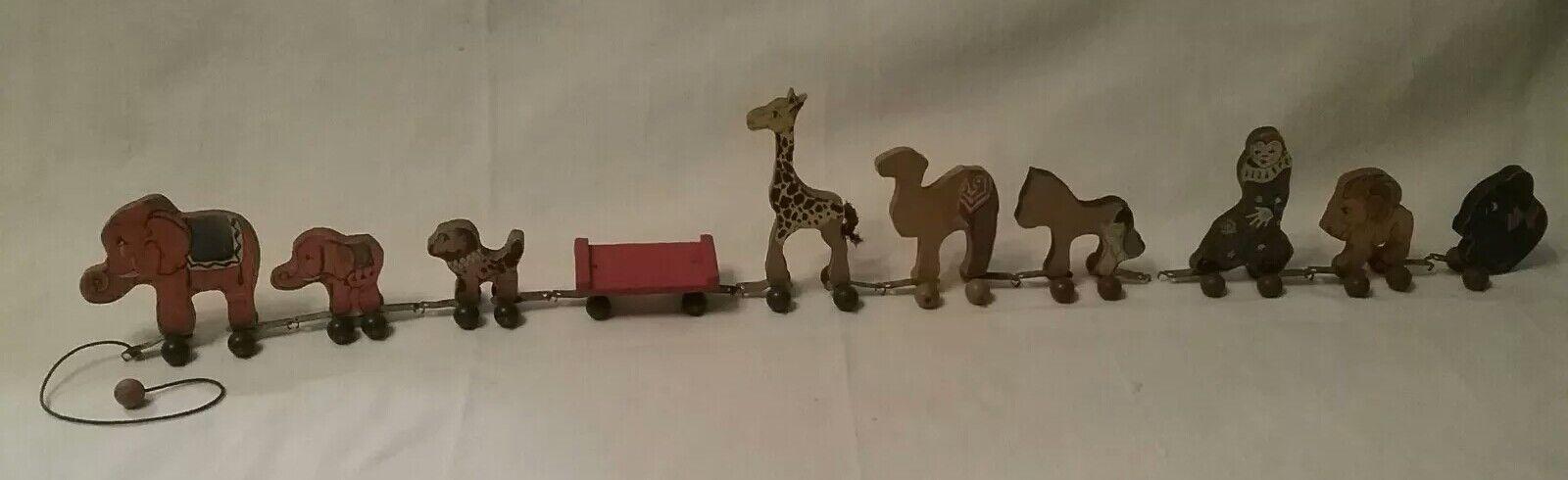 Vintage fisher price woodsy-wee woodsy-wee woodsy-wee circus train 2b8ef8